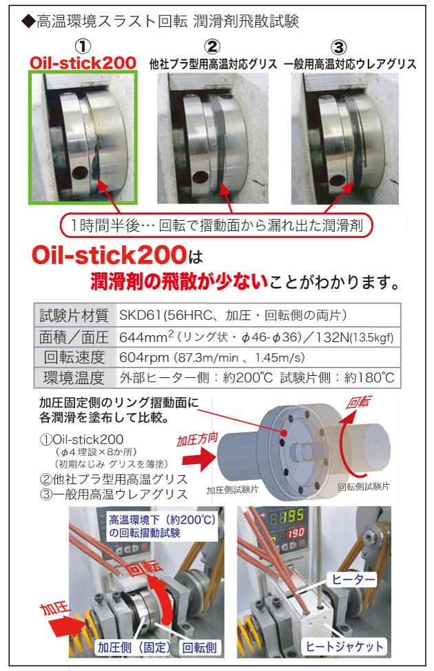 高温環境スラスト回転 潤滑剤飛散試験